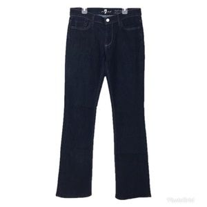 7 For All Mankind High Waist Bootcut Jeans 30